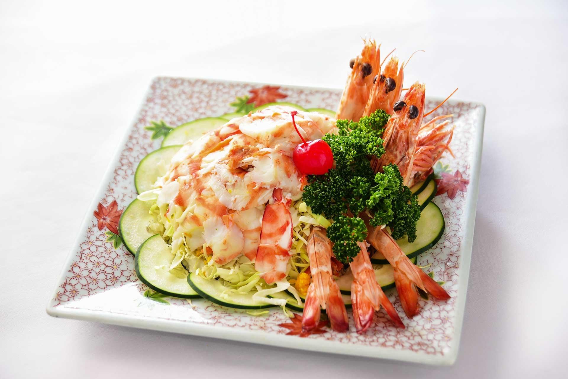 茂園蝦料理